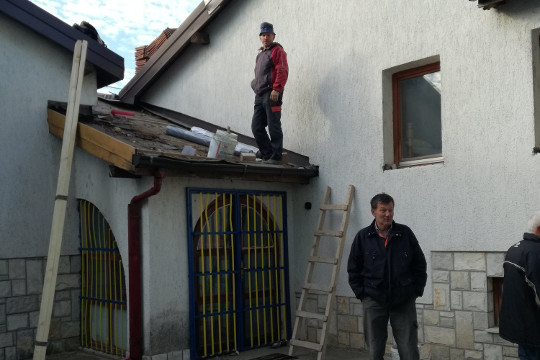 Repairs at Children's Home, Mostar