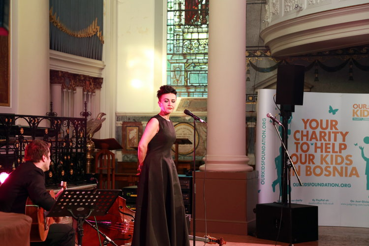 Fundraising Concert for Our Kids Foundation with Amira Medunjanin 2017