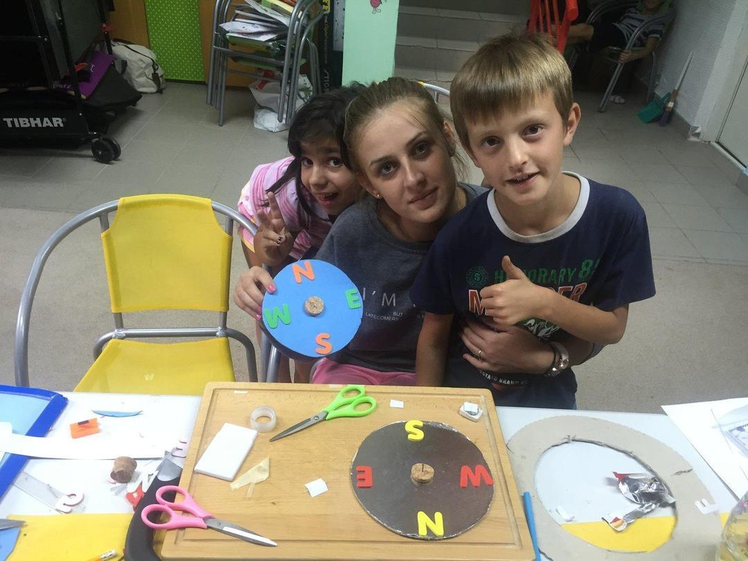 Kids Club arts and crafts