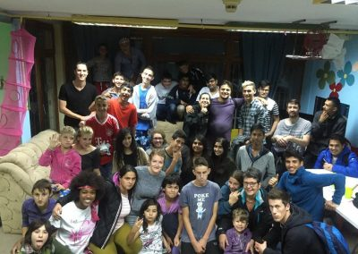 Students from London, UK, visiting Our Kids Foundation projects Bosnia and Herzegovina.