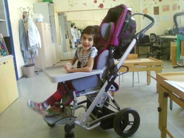 Anđela's Wheelchair